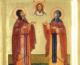 8 июля — день памяти святых благоверных князей Петра и Февронии Муромских