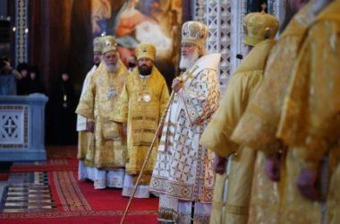 Слово Святейшего Патриарха Кирилла в День Крещения Руси после Литургии в Храме Христа Спасителя