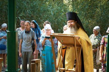 На источнике евангелиста Иоанна Богослова служат водосвятные молебны