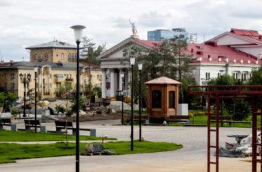 Преображение сквера рядом с Александро-Невским собором глазами волгоградца