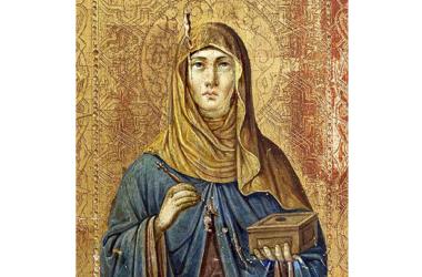 Православная Церковь чтит память святой Олимпиады Константинопольской