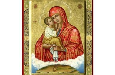 Празднование иконы Божией Матери Почаевская