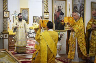 Престольный праздник в храме святого пророка Божия Илии