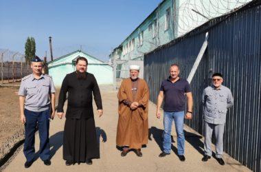 Волгоградский священник принял участие в работе комиссии по соблюдению закона о свободе вероисповедания в местах лишения свободы
