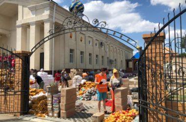 В Волгоград прибыло 20 тонн гуманитарного груза