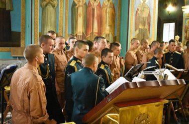 Православный хор Инженерных войск «За веру и Отечество» принял участие во всенощном бдении в Казанском соборе