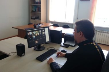Руководитель информационного отдела Волгоградской епархии принял участие в онлайн-совещании