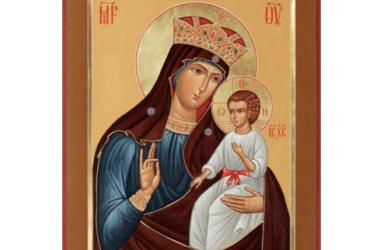 Православная Церковь чтит икону Божией Матери Писидийская