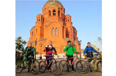 Осеннее велопаломничество по храмам Волгограда завершено