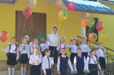 В День знаний для учащихся православной гимназии в Богоявленском приходе звучал благовест