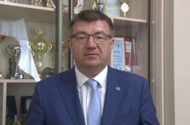 Ректор ВГСПУ Александр Коротков поздравляет читателей нашего сайта с Днем знаний