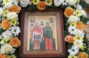 В храме Иоанна Предтечи вспоминали пророка Захария и святую праведную Елисавету