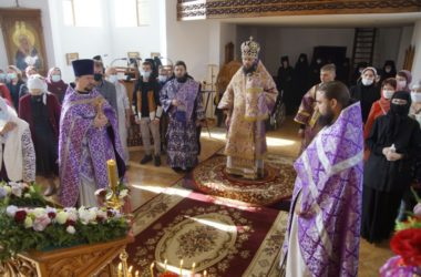 Праздник Воздвижения Креста Господня в Дубовском женском  монастыре