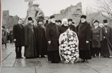 Фото из архива: Митрополит Алексий (Ридигер) в Волгограде