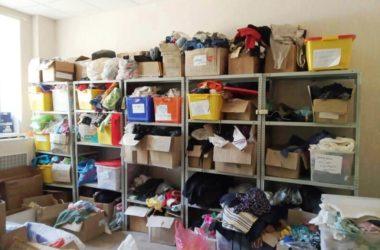 Гуманитарный склад Кризисного центра «Покров» возобновил работу
