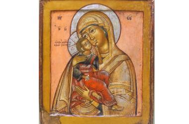 27 октября — празднование Яхромской иконы Божией Матери