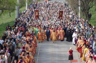 Фото из архива: кто помнит событие?  К 30-летию Волгоградской епархии