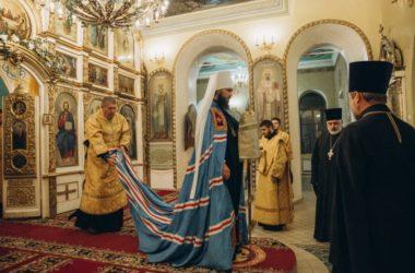Митрополит Феодор совершил архипастырский визит в храмы Камышинского благочиния