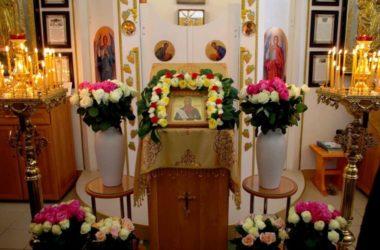 Престольный праздник в храме святого Феодора Ушакова