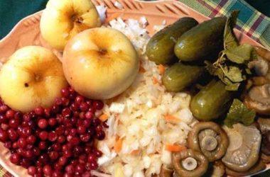 Рождественский пост и питание