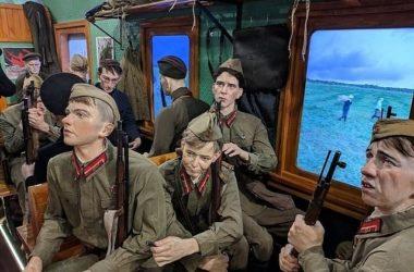 «Поезд Победы» прибыл в город-герой Волгоград