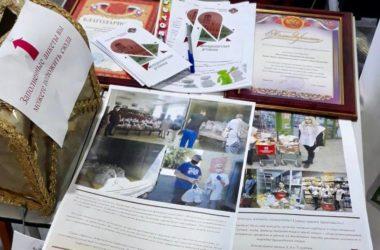 Молодежный актив Волгоградской епархии провел миссионерскую работу на православной ярмарке