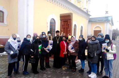 В Никольском соборе Камышина прошли встречи ко Дню матери