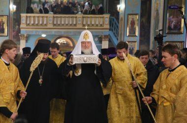В Волгограде вспоминают приезд Патриарха Кирилла в город-герой