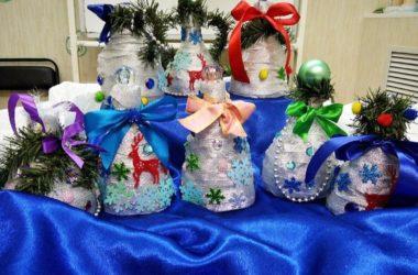 Подопечные Православного семейного центра «Лествица» готовятся к Новому году и Рождеству Христову