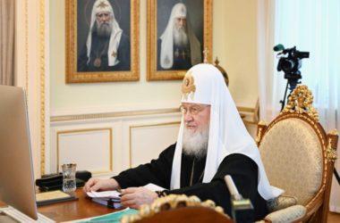 Святейший Патриарх Кирилл возглавил работу последнего в 2020 году заседания Священного Синода