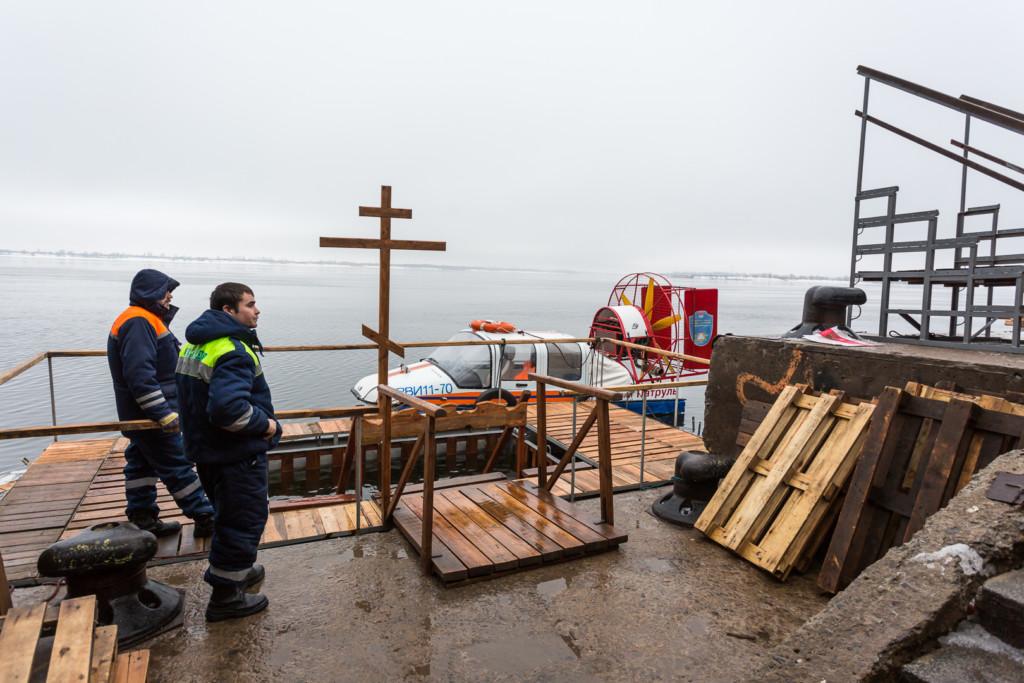 В волгоградском регионе определили места для крещенских купаний