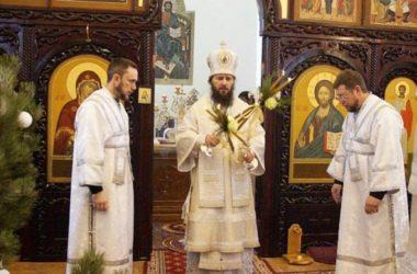 В Свято-Вознесенской обители прошло архиерейское богослужение