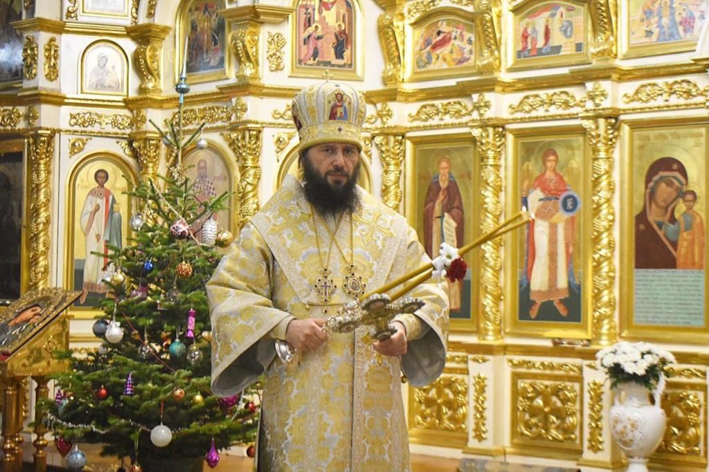 В Казанском кафедральном соборе в праздник Обрезания Господня состоялась архиерейская служба