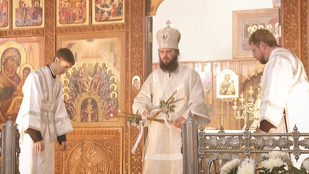 Крещенские торжества в Свято-Духовском монастыре возглавил митрополит Феодор