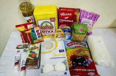 Продуктовая поддержка из православного центра выдачи гуманитарной помощи доставлена жителям области