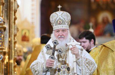 В праздник Рождества Христова Предстоятель Русской Церкви совершил Литургию в Храме Христа Спасителя
