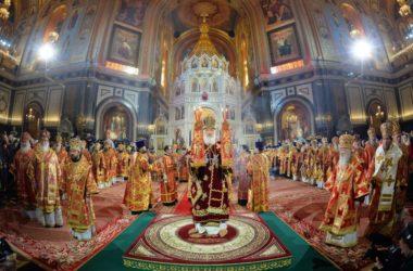 Сегодня годовщина интронизации Патриарха Кирилла
