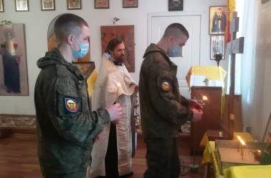 В Камышинском благочинии прошли заупокойные богослужения