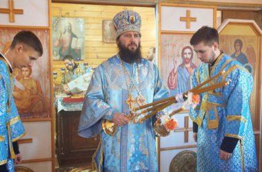 Митрополит Феодор возглавил престольный праздник в храме иконы Божией Матери «Утоли моя печали»