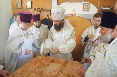 Храм священномученика Сергия Мечева освящен Великим чином