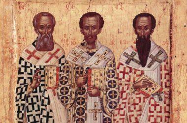 12 февраля — Собор вселенских учителей и святителей Василия Великого, Григория Богослова и Иоанна Златоустого