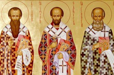 В день памяти трех святителей в монастыре будет совершена Литургия с элементами на греческом языке