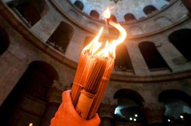 В Волгоград доставят Благодатный огонь