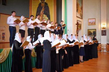 В Царицынском православном колледже состоялся экзамен по хоровому дирижированию