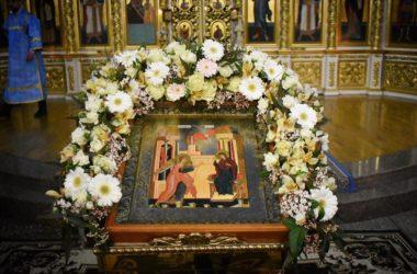 Евангелие дня: Литургия в праздник Благовещения Пресвятой Богородицы