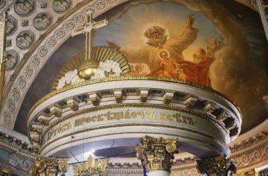 Евангелие дня: Литургия в престольный праздник храма преподобного Никиты Мидикийского