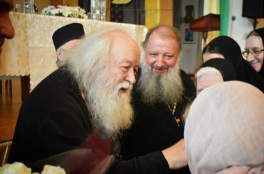 Встреча с протоиереем Валерианом Кречетовым в Свято-Духовском монастыре