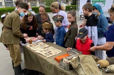Ярмаркой и концертом отметили в Волгоградской областной больнице Пасху и День Победы