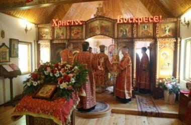 Митрополит Феодор совершил Литургию в Богоявленском храме