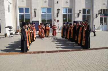 Духовенство Волгоградской епархии приняло участие в акции «Мы – армия страны! Мы – армия народа!»